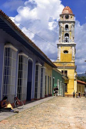 L'église de la Trinité -  Banque d'images