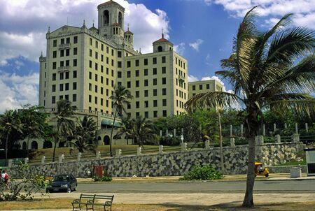 habana: THE AL CAPONE HOTEL IN HABANA Stock Photo