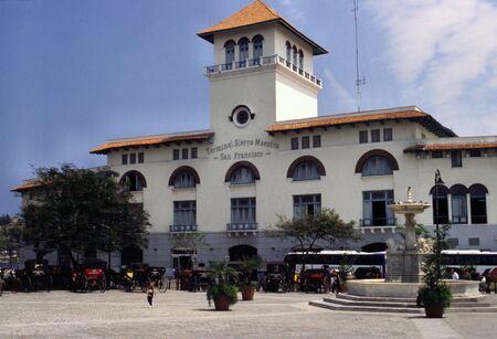 habana: THE RAILWAY STATION IN HABANA
