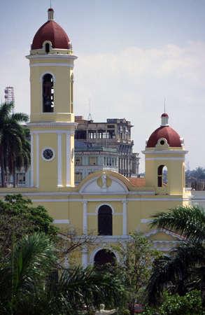 Une église à Cienfuegos