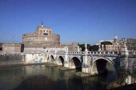 ROME, SAINT ANGELO CASTLE