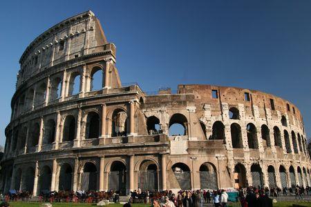 ROME THE COLISEUM