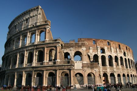ROME, le Colisée  Banque d'images