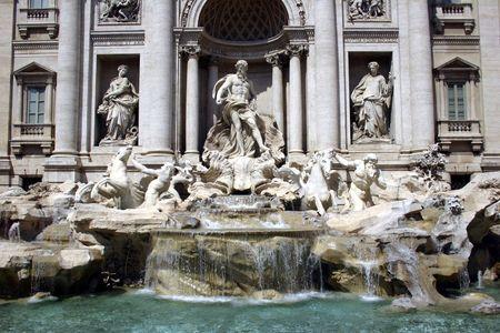 ROME, THE TREVI FOUNTAIN
