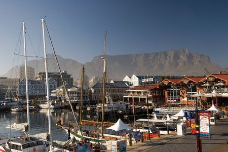 CAPE TOWN VIEW OF TABLE MOUNTAIN Stock Photo - 935550