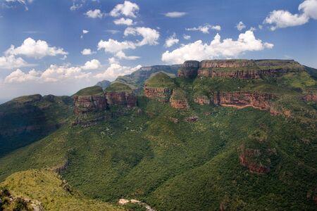 gauteng: Blyde River Canyon Stock Photo