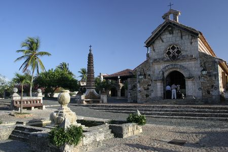 holyday: SANTO DOMINGO - DOMINICAN REPUBLIC Stock Photo