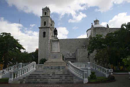 MÉRIQUE - YUCATAN, MEXIQUE Banque d'images