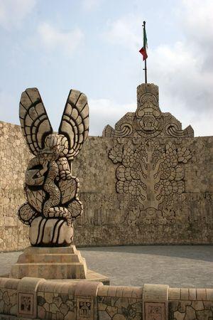 MERIDA - MEXIKO Standard-Bild