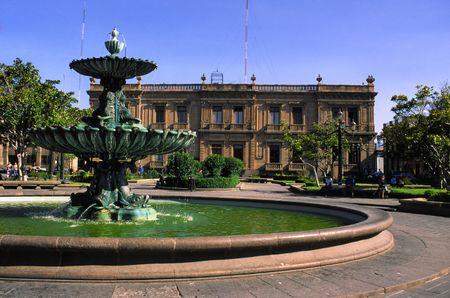 LE MEXIQUE - SAN LUIS POTOSI Banque d'images