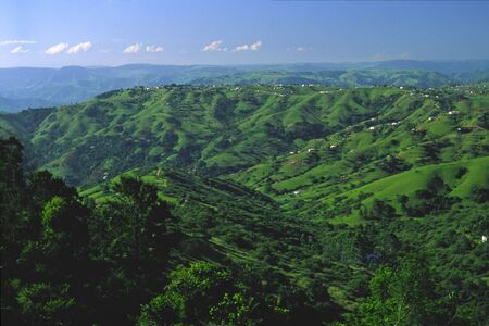 nature, seven hills in durban Stock Photo