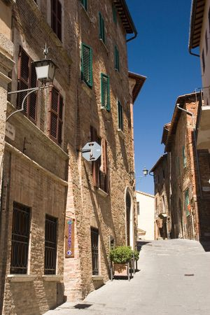 montepulciano: montepulciano streets