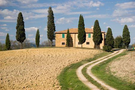 tuscany landscape Stock Photo - 1805572