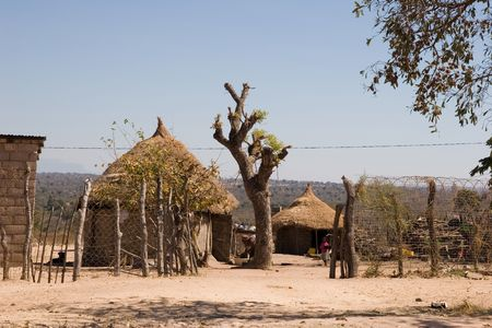 traditional village in south africa Stock Photo - 1805585