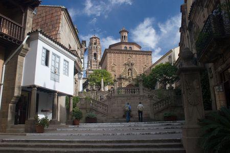 barcelona, poble espanyol
