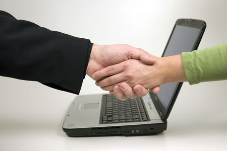 shaking hands Stock Photo - 2972683