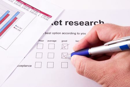market research form photo