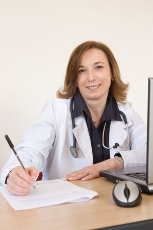 doctor at work Stock Photo - 3029509