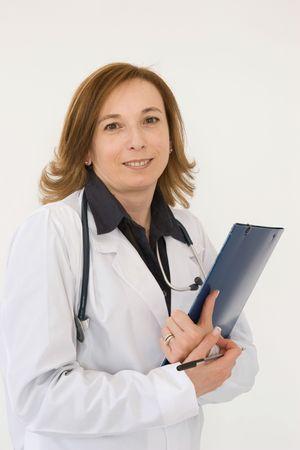 Arzt bei der Arbeit  Standard-Bild - 3029488