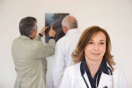 doctor at work Stock Photo - 3029487