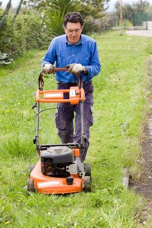 lawnmower Stock Photo - 7310219
