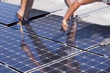 powerstation: photovoltaic panels