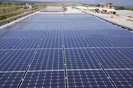 photocell: photovoltaic panels