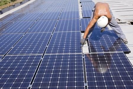 photovoltaic panels photo