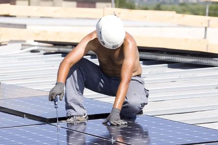 photovoltaic panels Stock Photo - 7827566
