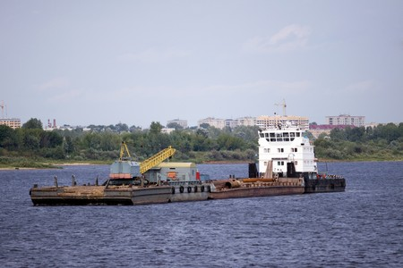cargo boat Stock Photo - 7934959
