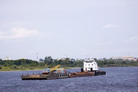 cargo boat photo