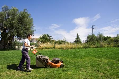 jardineros: segadora