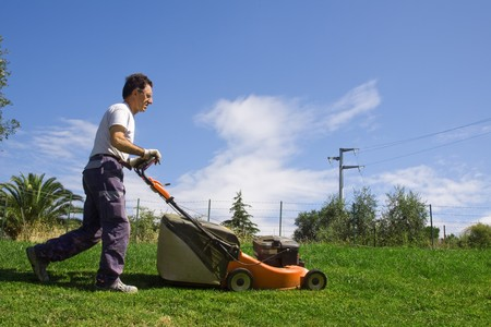 horticulturist: mower