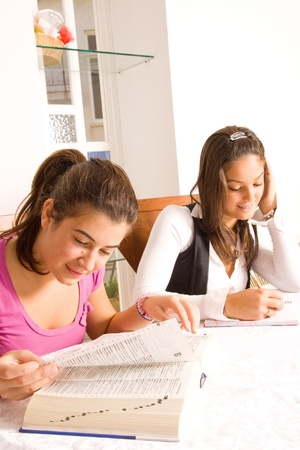 eading: students Stock Photo