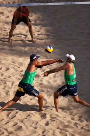 world championships: Beach volley ai mondiali in semifinale uomini di Roma 2011