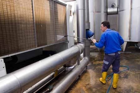 machine � laver: lavage
