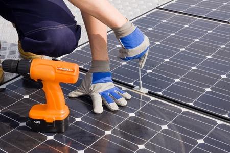 Sonnenenergie Standard-Bild - 10754050