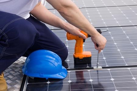sun energy Standard-Bild