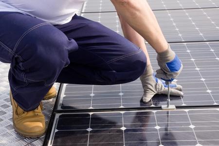 Sonnenenergie Standard-Bild - 10754001