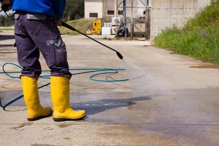 Waschen Standard-Bild