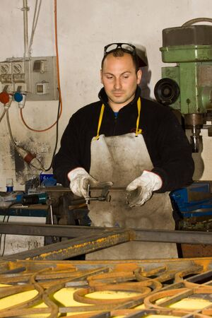 forging iron Stock Photo - 13854120