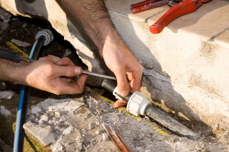 plumber and mason photo