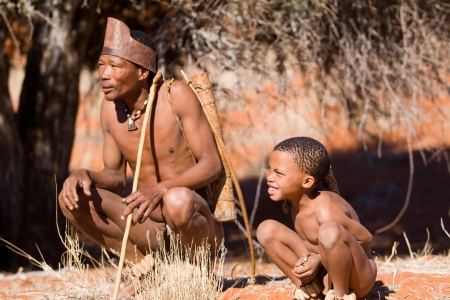 bushmen Stock Photo - 22320219