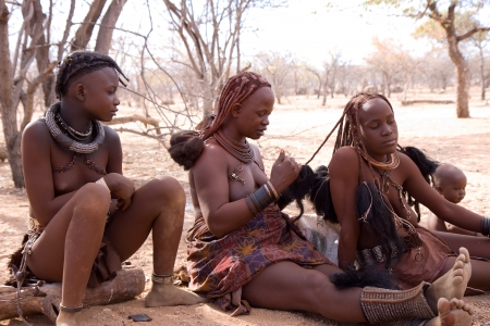 african tribe: himba