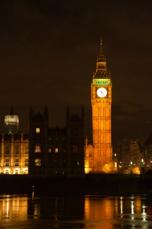 House of parliament with big ben in london photo
