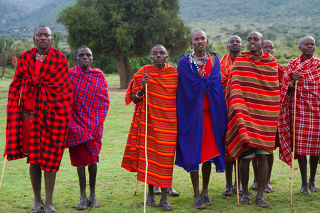kenyan masai Stock Photo - 32897150
