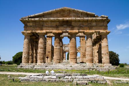 greek temple: paestum