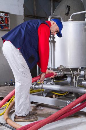 engineer's: maintenance Stock Photo