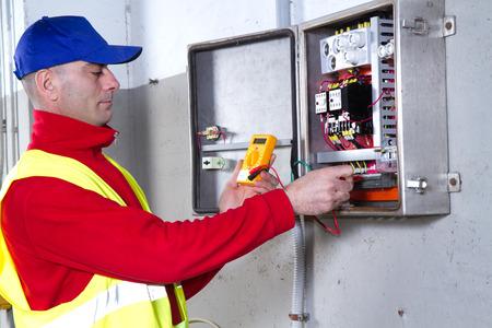 electrician Standard-Bild