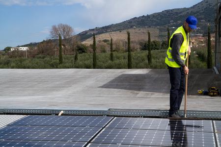 photovoltaic: photovoltaic Stock Photo